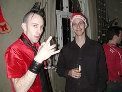 The stinger... (Pat Rioux) Tags: christmas people london hair punk circus staff artists acrobats cirque cirquedusoleil dralion aroundtheworld europeantour buckinghamgates