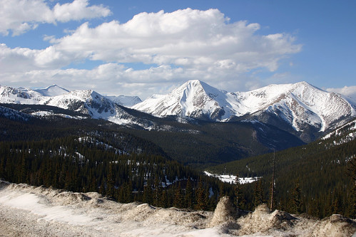 Monarch Pass Scenery
