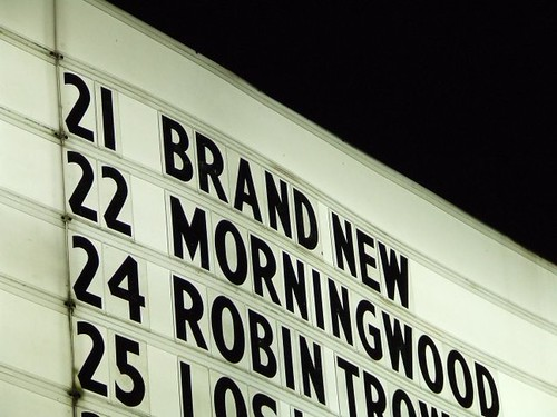 Brand New Marquee