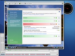 Windows Security Center (not antivirus softwar...