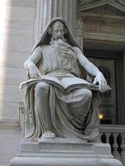 Wisdom statue in front of the court house (Seg Fault) Tags: nyc statue courthouse wisdom division madisonsquarepark appellate