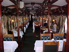 Rovos Rail, Dining car