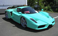 Ferrari F60 Enzo (Bobasonic) Tags: turquoise pastel photoshopped fake ferrari x enzo turchese pimped f60 club300