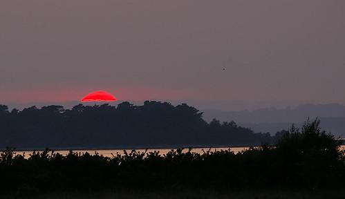 Strange sunset 3 - at 9.16pm 14 secs