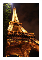 eiffel tower at night #391