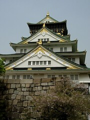 Osaka Castle  (jiaren777) Tags: castle japan osaka osakajo