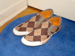 Argyle shoes