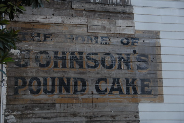 mmm, pound cake