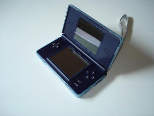 Blue Capdase DS Lite Silicone Skin - Open