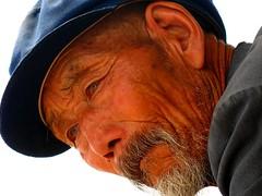 Windows (ivanyu) Tags: china portrait man homeless lanzhou 5hits