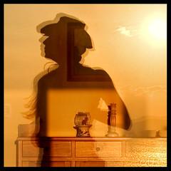 . ( Tatiana Cardeal) Tags: sunset shadow brazil selfportrait reflection me window brasil digital photography hope published candles peace social future tatianacardeal fotografia topf100 brsil socialchange livinginperu