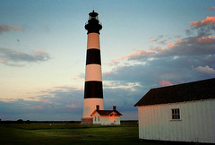 Bodie Island Lighthouse (James Jordan) Tags: sunset sky lighthouse clouds island twilight 100v10f jordan explore bodie outerbanks bodieisland jamesjordan