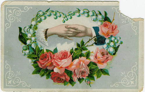 Hold my hand please - vintage greeting card (Copyright Hanna Andersson)