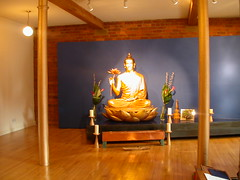 Manchester Buddhist Centre shrine 1