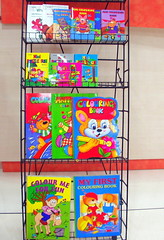 """""""Colouring is Fun"""" (Kamala L) Tags: blue red india green shop catchycolors colours madurai booksforkids booksrack"""