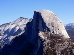 half dome glacier point