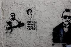 Johnny, Sid, and Travis (earthdog) Tags: graffiti stencil 2006 travisbickle johnnycash needstags sidvicious needstitle needsflickrpeople needscamera needslens