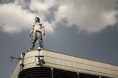 Surveyor (BombDog) Tags: street london liverpool photography jump power spirit gymnast freerunning acrobat strength parkour fearless traceur jonlucas danielilabaca jonathanlucas parkourphoto parkourphotography