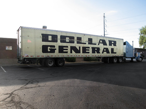 dollar general truck. dollar general truck