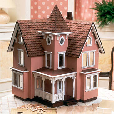 """Fairfield"" Dollhouse Kit"