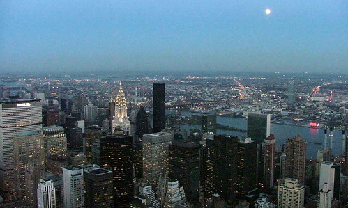 New York - Manhatten at Night - October 26th 2004