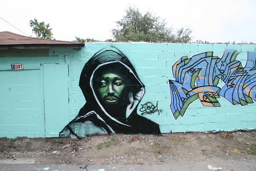 Deos tupac character in little village by Señor Codo.