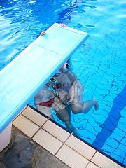 Pool swing (Xipeteon) Tags: stella pool swimming apartments greece crete merry vacations niki kisamos nopigeia cormoranos
