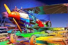 WWI Albatross Biplane - by Creativity+ Timothy K Hamilton