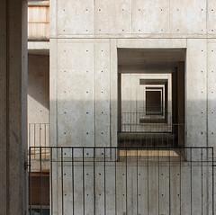 Salk Stair Tower Windows (ken mccown) Tags: salkinstitute louiskahn lajolla light modernism architecture concrete
