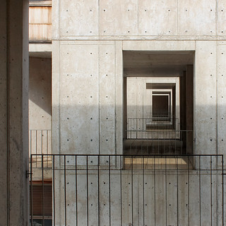 Salk Stair Tower Windows