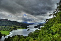 Loch Tummel (The Queen's View) (Magdalen Green Photography) Tags: green nature water forest d50 ilovenature scotland perthshire scottish iain loch queenvictoria tranquil hdr pitlochry tummel scottishlandscapes iaingordon