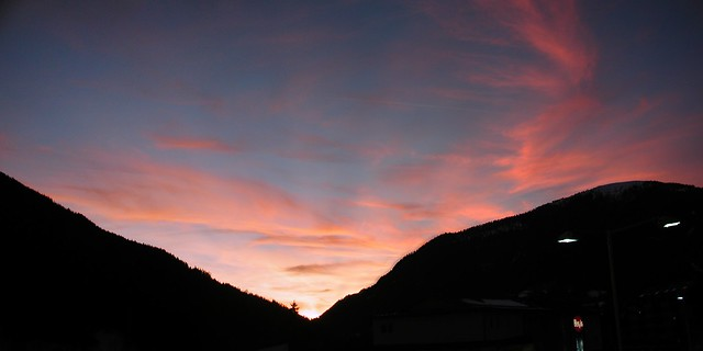 Sunset in Bad Kleinkirchheim - von Flickr/Florian Demmer