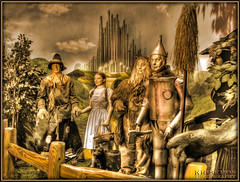 the wizard of oz (Kris Kros) Tags: california ca old usa classic film public cali museum photoshop vintage movie dorothy photography la us losangeles 3d high cool nikon bravo pix boulevard searchthebest dynamic heart cs2 witch good oz wizard great scarecrow lion ps brain historic wicked hollywood kris wax waxmuseum wizardofoz magical range toto cyclone emeraldcity hdr blvd tinman 1939 kkg coward courage thewatchers monumental wiz wickedwitch achiever cowardlylion 3xp photomatix goodwitch pscs2 kros kriskros top20hdr wizofoz kk2k abigfave kkgallery