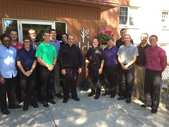 Seminary visits Jesuit Retreat House - September 2016