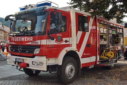 2010 Hilfsleistungslöschgruppenfahrzeug (HLF 20-16) Mercedes-Benz ATEGO 1629 Freiwillige Feuerwehr Jüchsen