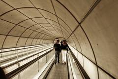(Ca'mont) Tags: urban underground subway metro bilbao foster euskadi bilbo cascoviejo