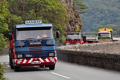 Scania 112M - E386 LAE (Ben Matthews1992) Tags: old tractor classic wales truck vintage wagon britain 1987 transport historic lorry commercial vehicle british preserved morpeth artic articulated scania preservation unit waggon barmouth lorries haulage 2015 roadrun 112m heartofwales sanray e386lae