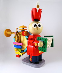Tin Toy (Swan Dutchman) Tags: toy lego disney pixar tintoy waltdisney tinny onemanband