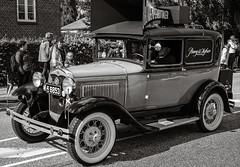 Old Ford Car with Loudspeaker (Poul-Werner) Tags: auto car sport denmark classiccar vintagecar places running dk bil danmark bangolufsen veteranbil lb struer runtothebeat centraldenmarkregion