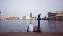 T (j.borras) Tags: barcelona color film club harbor lomography bcn negative werlisa