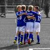 Goooooal, Mintard, Mülheim, Germany ([ PsycBob ]) Tags: bw football goal soccer celebration blau tor weiss schwarz jubel mülheim fusball weis colorkeying djk mintard torjubel colorstrokes