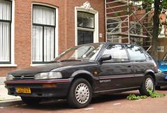 1991 Toyota Corolla 1.3 XLi Sport (rvandermaar) Tags: sport toyota 1991 13 corolla e9 e90 toyotacorolla xli sidecode4 zj77sx toyotacorollae90