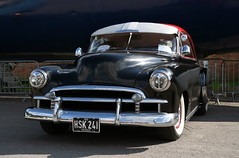 1950 Chevrolet Deluxe Coupe (davocano) Tags: brooklands hsk241 classicamericanday