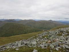 Creag Mhor summit Stuc an Lochain (ancanchaWH) Tags: highlands walk mhor beinn creag heasgarnich
