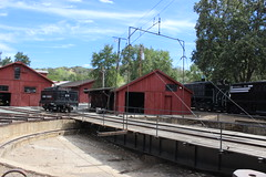 Turn Table (California Will) Tags: california ca trains sierra jamestown roundhouse statehistoricpark railtown1897