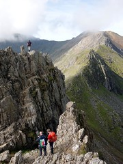 """Crossing pinnacles on the Crib Goch ridge • <a style=""""font-size:0.8em;"""" href=""""http://www.flickr.com/photos/41849531@N04/21406889879/"""" target=""""_blank"""">View on Flickr</a>"""