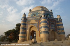 Shrine of Bibi Jawindi at Uch Sharif - Bilal Javaid