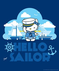 Sanrio - Hello Sailor (Jemppu M) Tags: ocean sea cute japan sailing ship vectorart hellokitty tshirt sanrio harajuku kawaii cruiseship sailor royalcaribbean tshirtdesign sailingship cruiseboat seafaring sailingboat sailorhat hellokittyshirt sailoroutfit sailordress cuteshirt cutecharacter kawaiipop sailorchic sailorfuku sanriocharacters kawaiishirt oasisoftheseas kawaiicharacter sailorskirt allureoftheseas sanrioshirt welovefinewelovefine