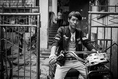 The guy and his motorbike (brunoat) Tags: guy motorbike his the
