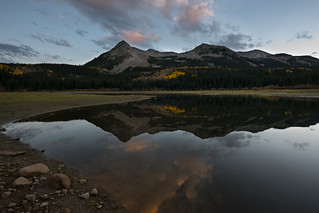 Beckwith Mountain Sunset